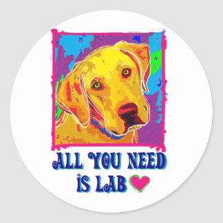 All You Need is Lab Stickers