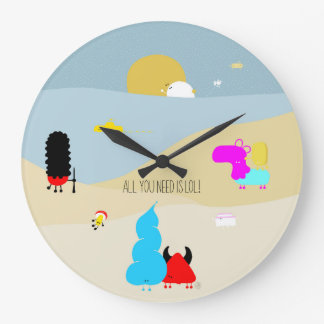 All you need IS LOL Large Clock