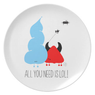 All you need IS LOL Plate