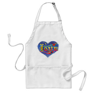 ALL YOU NEED IS LOVE ADULT APRON
