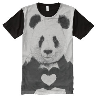 All you need is love All-Over print t-shirt