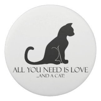 All You Need Is Love and A Cat! Eraser