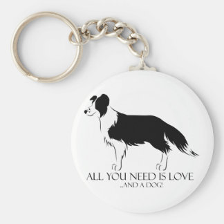 All You Need Is Love And A Dog! Keychain