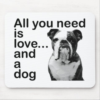 All you need is love... and a dog mousepad