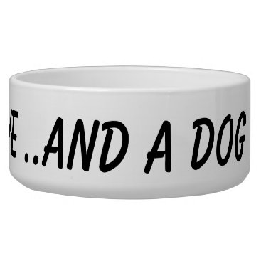 new,or,pet ALL YOU NEED IS LOVE AND A DOG new large pet bowl