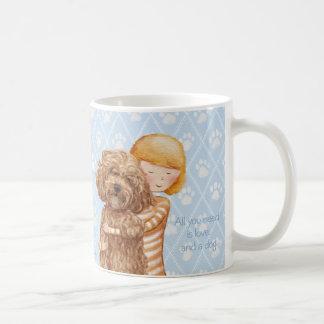 All you need is love and a dog © Sari Ala-Nissilä Coffee Mug