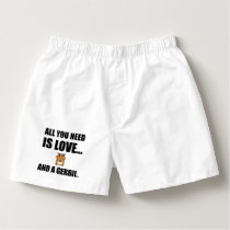All You Need Is Love And A Gerbil Boxers