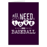 All You Need is Love and Baseball Greeting Cards
