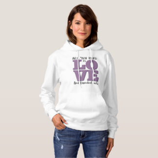 All you need is LOVE and OILS Hoodie