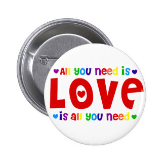 All you Need is Love Button
