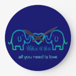 all you need is love clocks