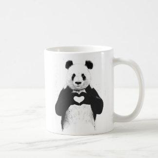 All you need is love coffee mug