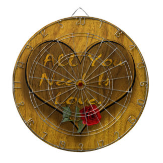 All You Need is Love Dart Board