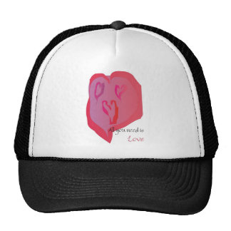 All you need is love hats