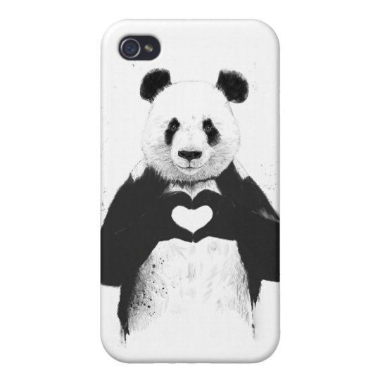 All you need is love iPhone 4/4S cover