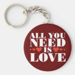 All You Need is Love Key Chain