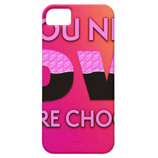All you need is love or more chocolate iPhone SE/5/5s case