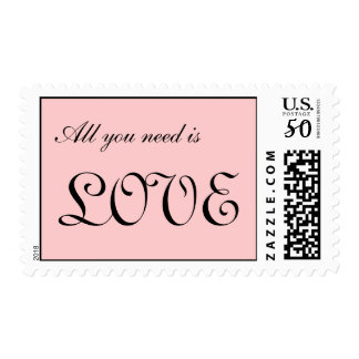 all you need is love postage