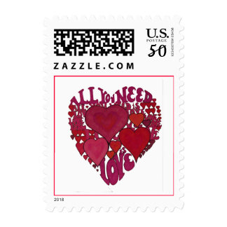 All You Need is Love Stamp