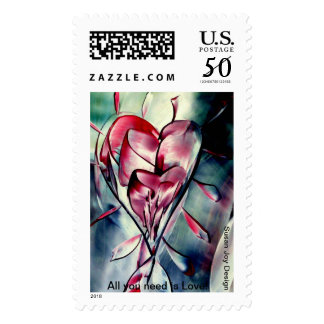 All you need is love! Stamps
