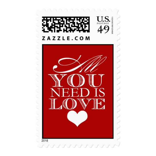 All You Need Is Love (Today's Best Award) Postage