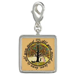 All You Need Is Love Tree of Life Charm