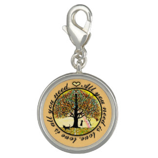 All You Need Is Love Tree of Life Photo Charms