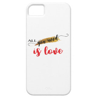 All-you-need-is-Love Valentine iPhone SE/5/5s Case