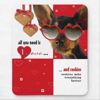 All you need is Love.Valentine's Day Gift Mousepad