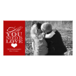 All You Need Is Love | Valentine's Day Photo Card