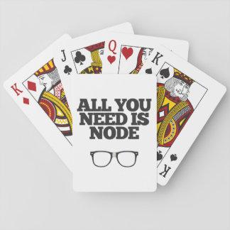 All You Need Is Node Nerd Typography Card Decks