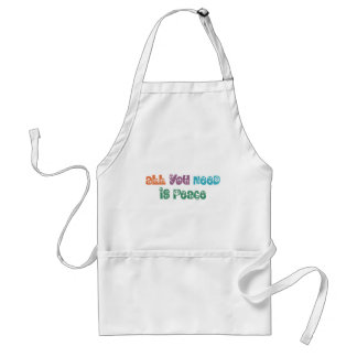 All You Need is Peace Products! Adult Apron