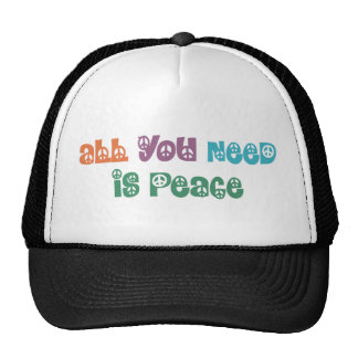 All You Need is Peace Products! Trucker Hat
