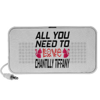 All You Need To Love Chantilly tiffany iPhone Speaker