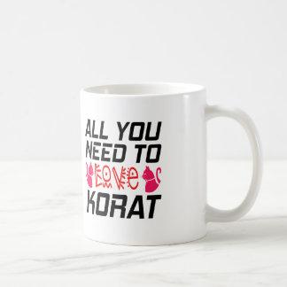 All You Need To Love Korat Cat Classic White Coffee Mug