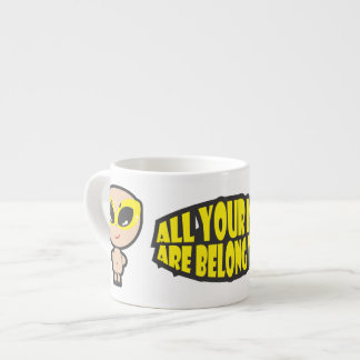 All Your Base Are Belong To Us Expresso Mug