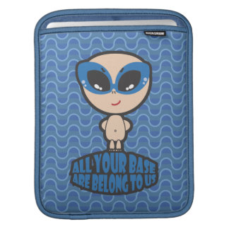 All Your Base Are Belong To Us iPad Sleeve