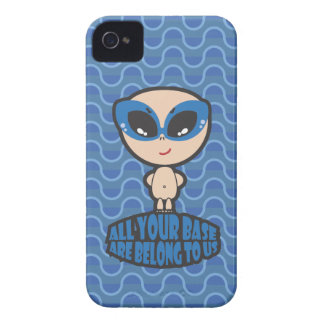 All Your Base Are Belong To Us iPhone 4 Case-Mate Case