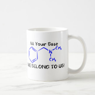 All your base. coffee mug