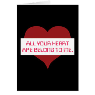 All Your Heart Card