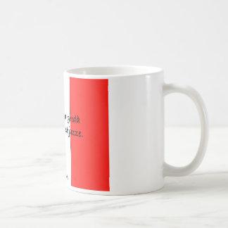 alla chjazze.001 del mmezz del greda taza de café