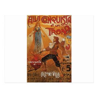 Alla Conquista di un Tron Post Cards