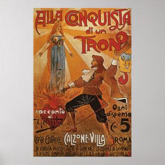 Alla Conquista di un Tron Poster