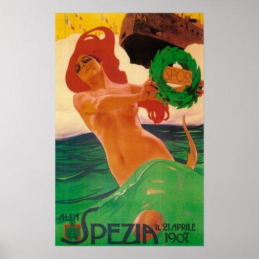 Alla Spezia Promotional Poster