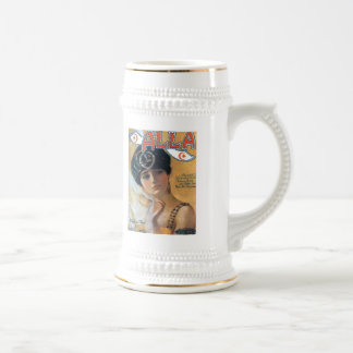 Alla Vintage Songbook Cover Beer Stein