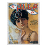 Alla Vintage Songbook Cover Poster