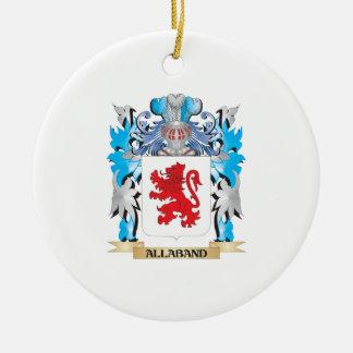Allaband Coat Of Arms Ornaments