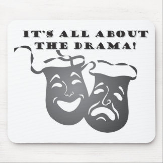 AllAboutTheDrama Mouse Pad