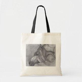 Allah's Grace Arabian Horse Canvas Bags