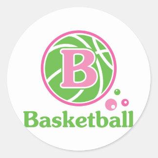 Allaire Basketball Classic Round Sticker